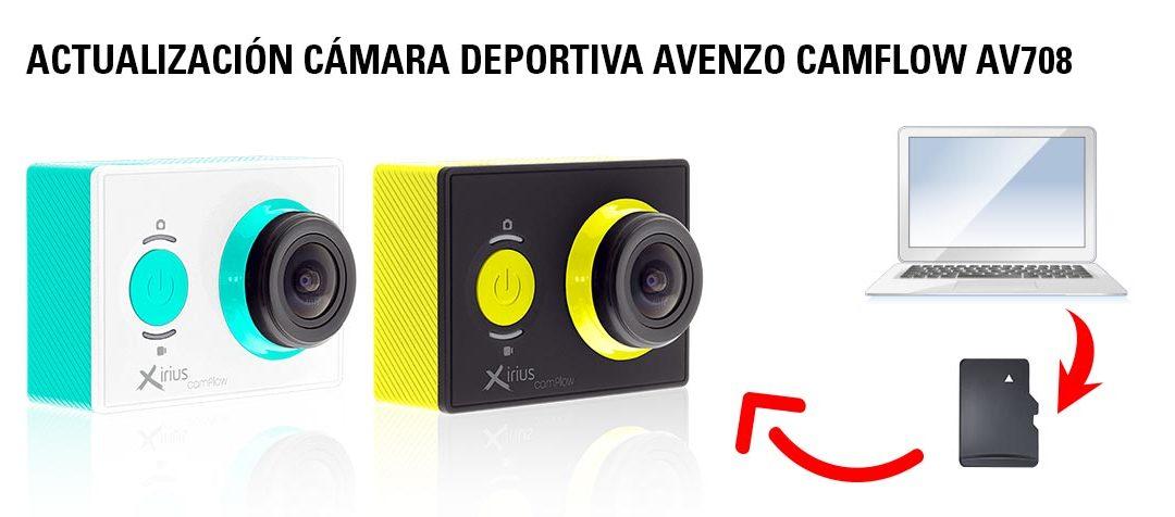 Actualización Cámara Deportiva Avenzo CamFlow AV708